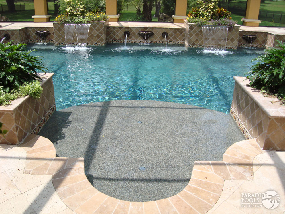 Project 12 paradise pools by design for Pools by design