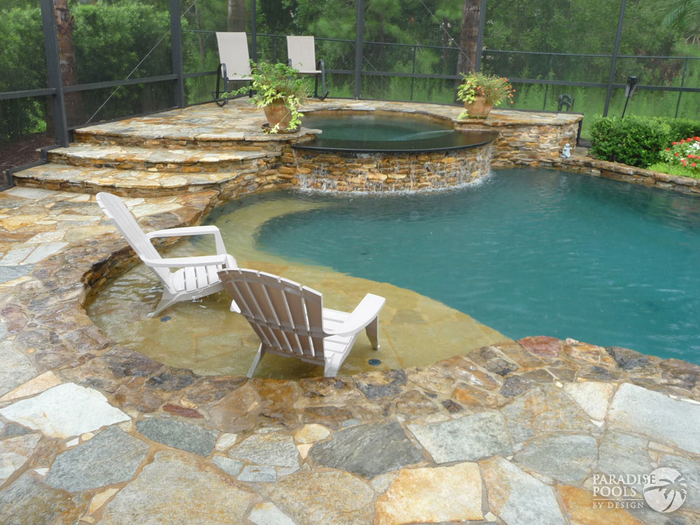 Project 24 paradise pools by design for Pools by design