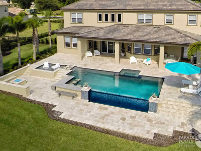 Residential Luxury Pools Gallery | Paradise Pools By Design