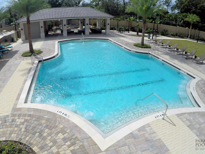 Commercial Luxury Pool Gallery | Paradise Pools By Design