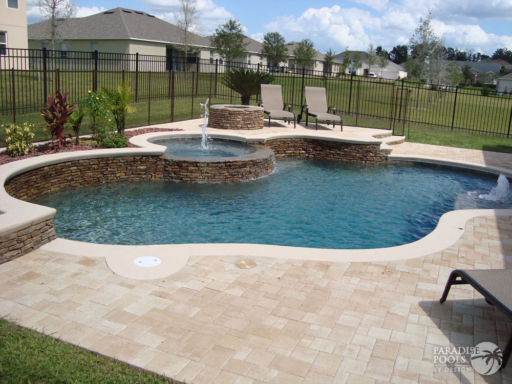 Project 25 paradise pools by design for Pools by design