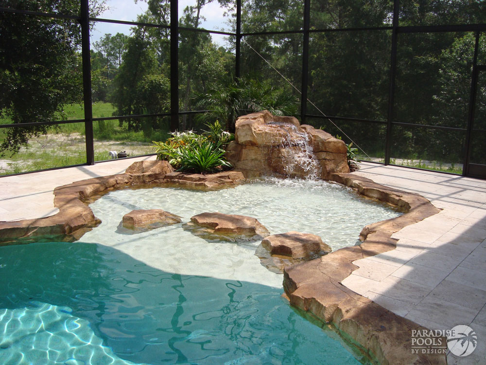 Project 23 paradise pools by design for Pools by design