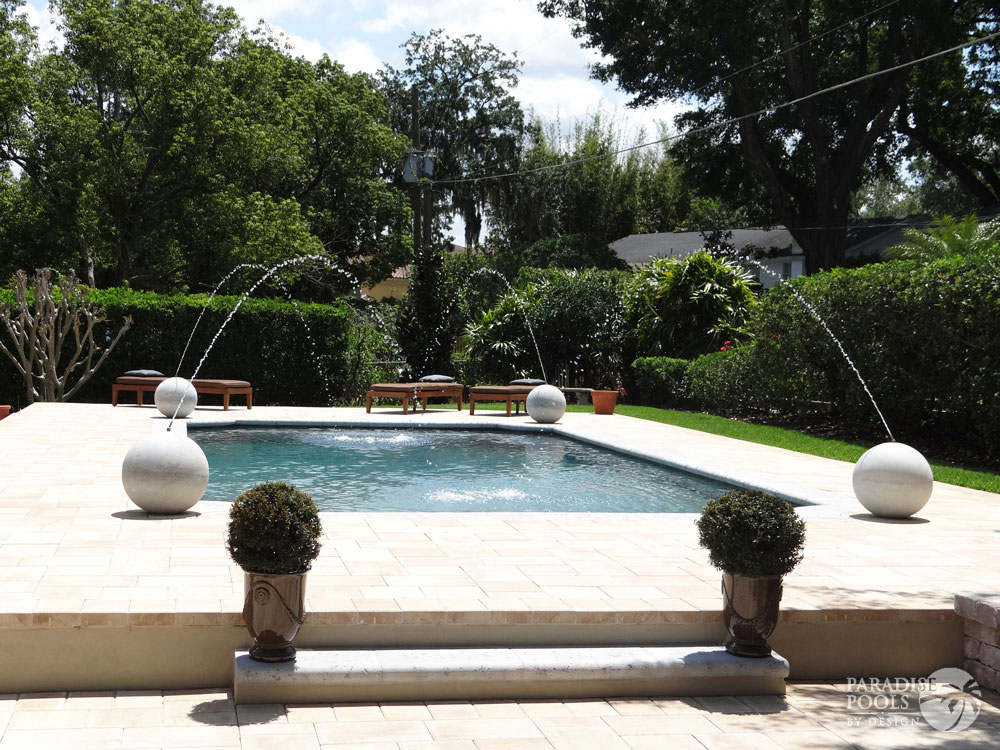 Project 17 paradise pools by design for Pools by design