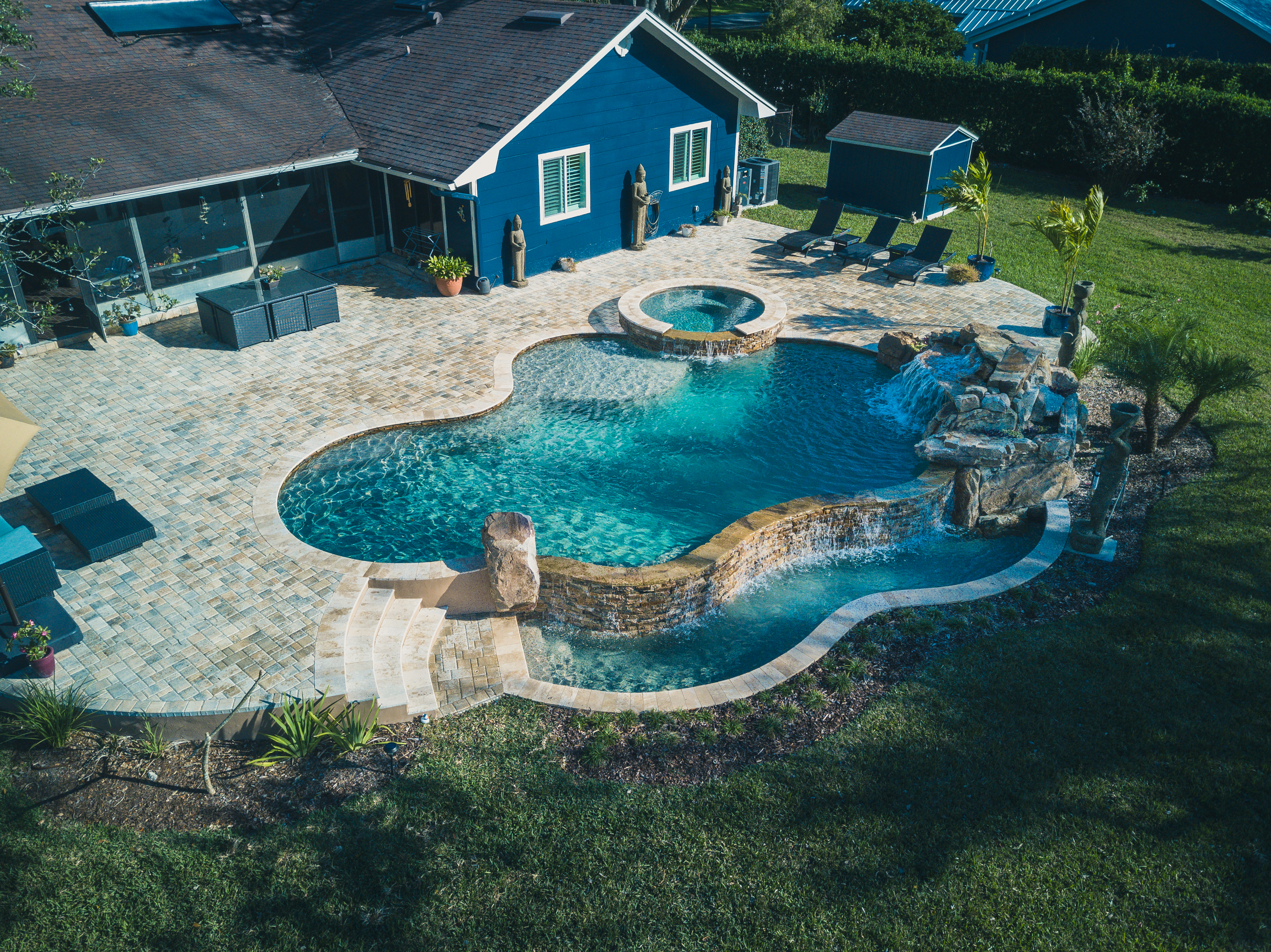 Project Waterfront | Paradise Pools By Design